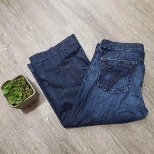 7 For All Mankind Dojo Capri Jeans Sz 30
